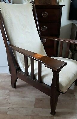 Arts and Crafts Oak Armchair in style of George Jack for William Morris
