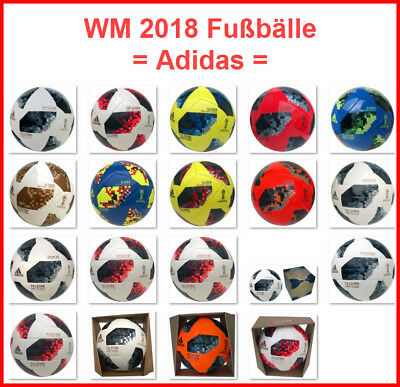 Adidas Telstar Wm 2018 Fussbälle Mix Trainingsball Matchball Junior Ball Torfabr