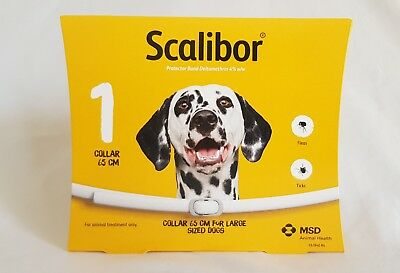 Scalibor Dog Collar 6 months 65cm kill prevent Fleas Ticks Protector Band Dogs