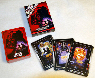 "Cartamundi: ""Star Wars Poster Playing Cards"" - Topzustand (Spielkarten 55 Blatt)"