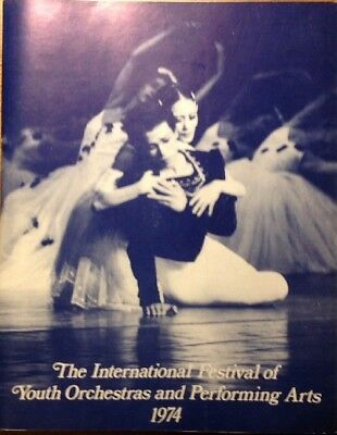 International Festival of Youth Orchestras 1974 ABERDEEN LONDON Programmheft