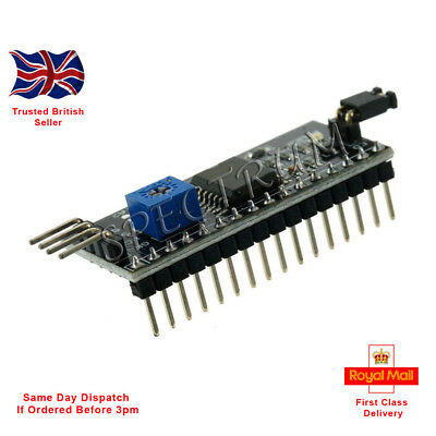 1//2//5//10PCS 5V I2C//IIC//TWI//SP​​I Serial Interface Board Port For Arduino 1602LCD
