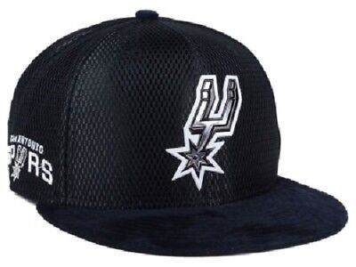 check out dfad3 4ca48 San Antonio Spurs Mens NBA On-Court Collection Draft New Era 9FIFTY Snapback  Cap