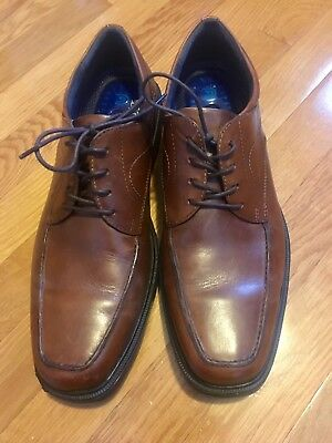 cabc904c651 Nunn Bush Men s CHATTANOOGA Moc toe oxford Leather Shoes 84572 very lightly  used
