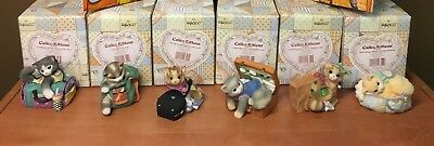 CALICO KITTENS The Cat's Out Of The Bag Figurine Lot
