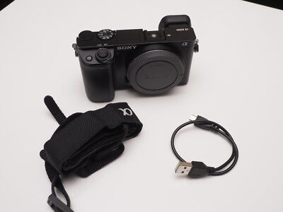 Sony Alpha a6000 24.3MP Digital Camera Black Body Only Excellent Cond!