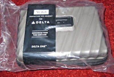 Latest Delta Airline One Business Class Hard Case  Amenity Kit