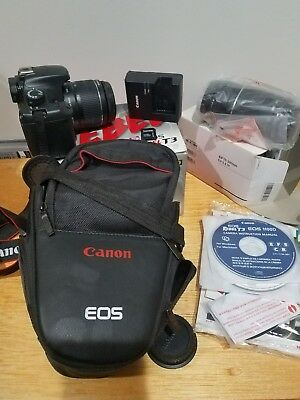 Canon EOS Rebel T3 / EOS 1100D 12.2MP Digital SLR Camera - Black (Kit w/ EF-S I…