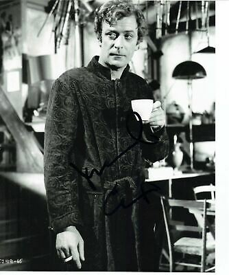 Michael Caine Signed 10X8 Photo AFTAL COA (7220)