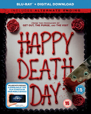 Happy Death Day Blu-Ray (2018) Jessica Rothe