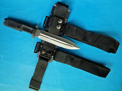 Sharp Double Blade Dagger Utility Boot Camping Rescue Bowie Hunting Knife