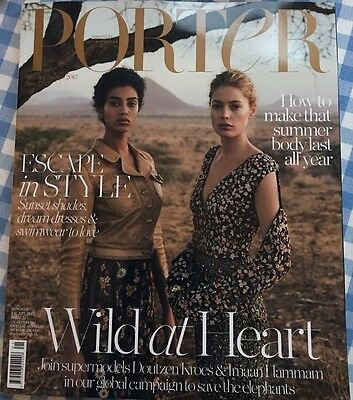 Porter Magazine Summer Escape Rare 2017 Issue 21 Doutzen Kroes & Imaan Hammam