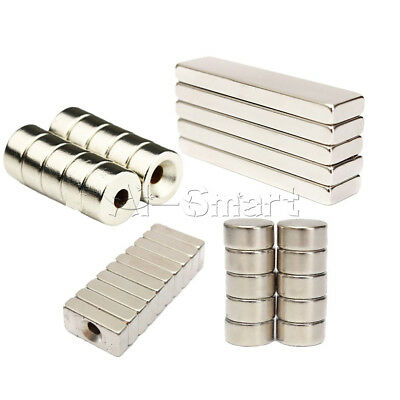 5/10PCS N50 N52 Super Round Strong Fridge Magnets Rare-Earth Neodymium Magnet