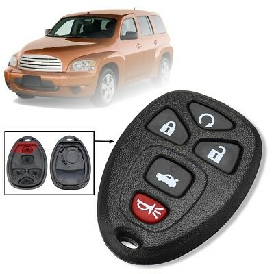 5 Button Remote Key Fob Case Shell For Buick GM Cadillac Chevrolet Pontiac G5 G6