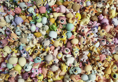 20 Pcs NO Repeat Hasbro Littlest Pet Shop Animal Collection At Random