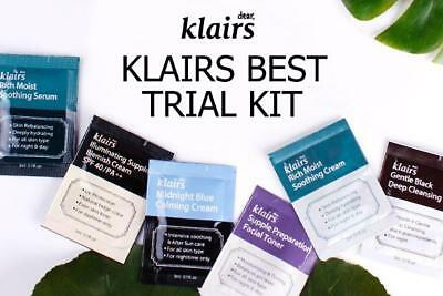 Dear Klairs Best Trial Kit / Sample / Travel / Kit / 8pcs / RANDOMLY SENT