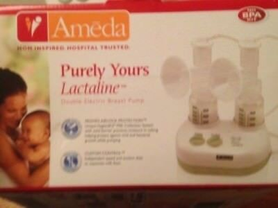 Ameda Purely Yours Lactaline Double Electric Breast Pump - Excellent Condition