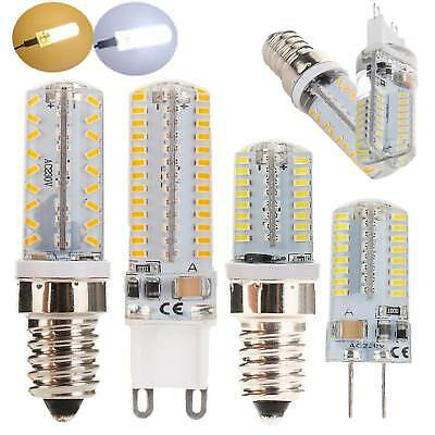 Dimmable LED Corn Bulb Light G9 G4 E12 E14 3014 SMD Replace Halogen Lamp Bright