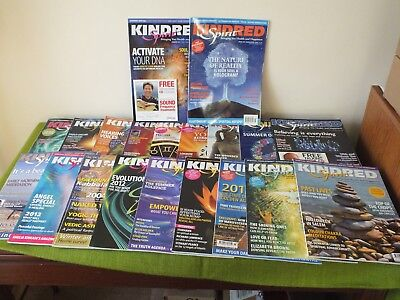 Kindred Spirit Magazines - 20 Issues from 2004-2012.  All VGC