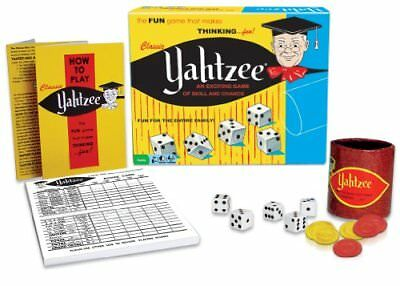 Classic Yahtzee Exciting Game Of Skill And Chance Contemporary Manufacture Board