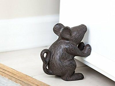 Cast Iron Mouse Door Stop Decorative Rustic your bedroom bath and exeterior in