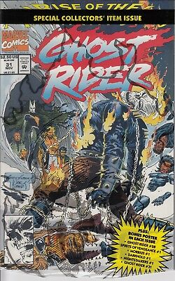 GHOST RIDER  31    .VF/NM  ...1992 ...Open Polybag...Bargain!