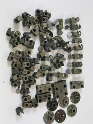 Fisher Flexaframe Science Lab Clamps,Clips,Castaloy Hook Connectors Lot