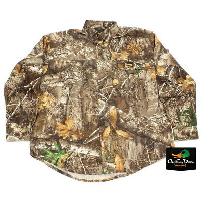 46e073521184a NEW BANDED GEAR Mid Weight Hunting Shirt Realtree Edge Camo Xl ...