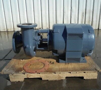 MARATHON 125 HP ELECTRIC w CORNELL 5YB125-2 WASTE WATER PROCESS TURBINE PUMP