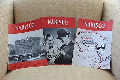 3 - Nabisco Company in-house magazines - 1945