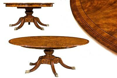 IN STOCK~Theodore Alexander Traditional and Formal Mahogany Jupe Table