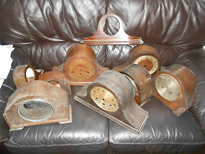 Joblot Mantle Clock Cases (9) - Collection From Leek Only