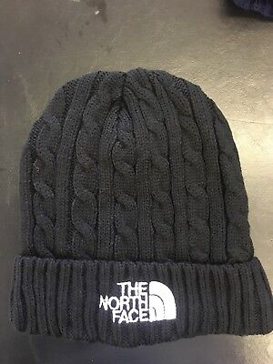 North Face Warm Thermal Insulated Thick Winter Hat Knit Black Beanie Skull  Cap 5ad3643e2c2