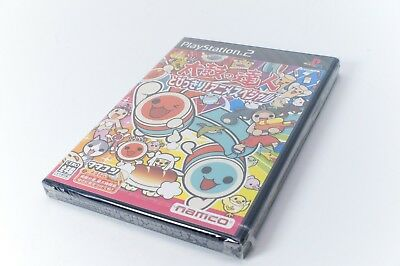Sealed Namco Playstation 2 Taiko No Tatsujin Super Animehit Japan Import 2005