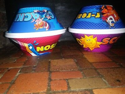 2nd EDITION 2016 SET OF 4  KELLOGGS CEREAL BOWLS COLLECTIBLE NEW COLLECTIBLE!!