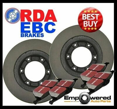 RDA FRONT DISC BRAKE ROTORS + PADS for Holden Rodeo RA 2WD/4WD 3.5L V6 2003-2009
