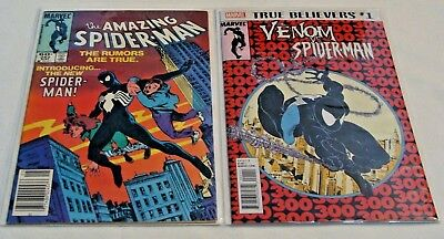 The Amazing Spider-Man #252 (May 1984, Marvel) 1st  Black Costume in Amazing VF+
