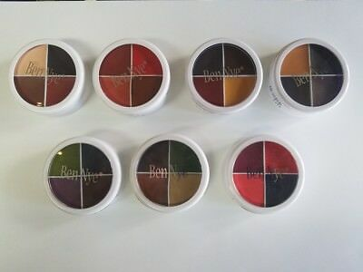 F/X Color Wheel, Special FX Makeup, Creme Professional Makeup, Moulage