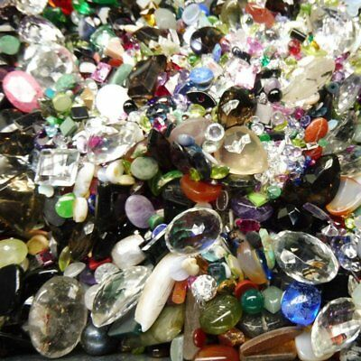 50cts Mixed Chipped, Abraided and Rejection Gems Wholesale Lot