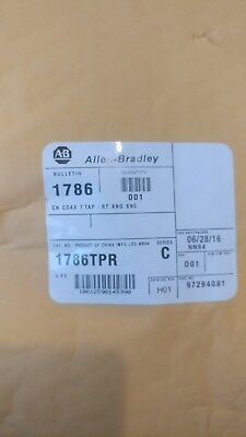 Allen Bradley, ControlNet, Coax Tap, Cable, 1786-TPR, SER C, New, Factory Sealed