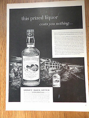 1954 Southern Comfort Liquor Whiskey Ad  This Prized Liquor
