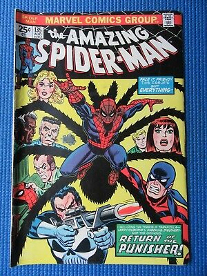 Amazing Spider-Man # 135 - (Fn/vf) - 2Nd App Of The Punisher, Origin  Tarantula