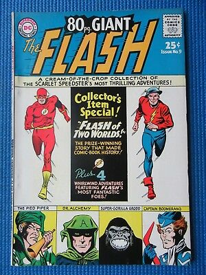 Giant-Size Flash # 9 - (Nm) - High Grade - Flash Of Two Worlds,captain Boomerang