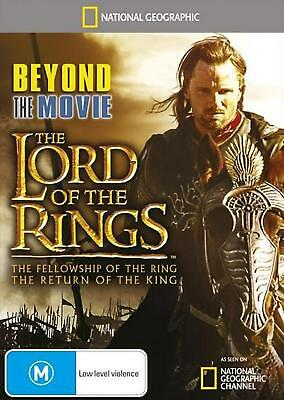 National Geographic - Beyond The Movie - Lord Of The Rings - DVD Region 4 Free S