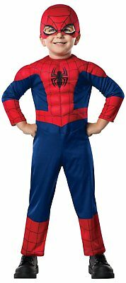 Ultimate Spider-Man Toddler Costume Marvel Comics Size 2T - 4T Rubies 620009 New