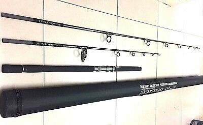 JIG / POP POPPER POPPING ROD 3 Piece + Hard Travel Case - Heavy Duty Rod