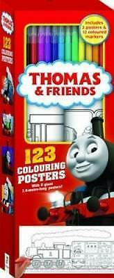 Thomas and Friends 123 Colouring Posters Free Shipping!