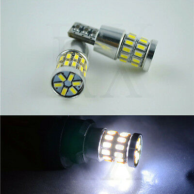 2PCS CANBUS T10 Wedge 30SMD Parker Number Plate LED Bulbs W5W 194 168 131 WHITE