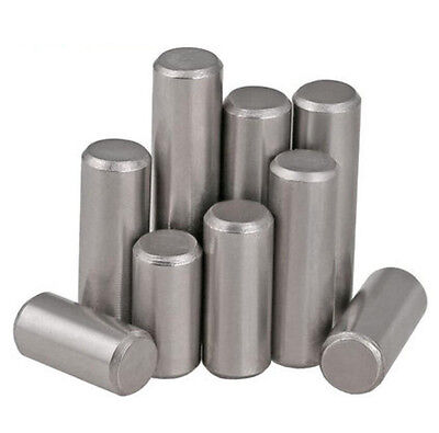 20 x M1.5 M2 M2.5 Solid 304 stainless steel Dowel pins Cylindrical Parallel pins