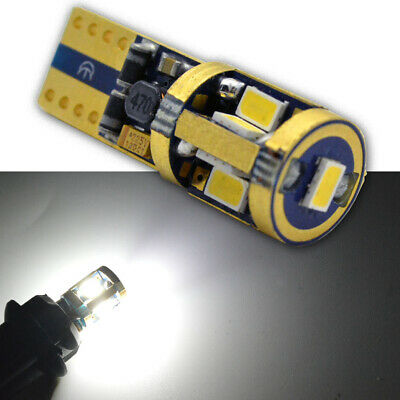 2X CANBUS WHITE T10 Wedge 3623 SMD Parker Number Plate LED Bulb W5W T10 194 168